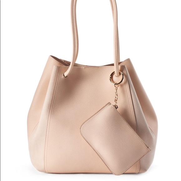 LC Lauren Conrad Handbags - New  LC Conrad unlined drawstring tote w/ pouch
